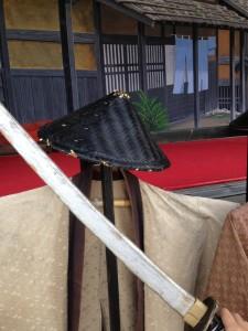 ステージ_衣装と刀